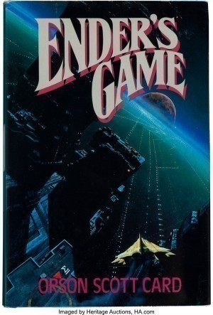 Enders Game 1st Ed Cover